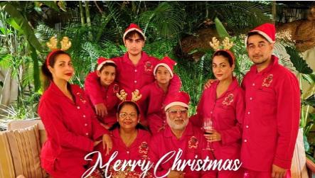 Malaika Amrita Arora Christmas