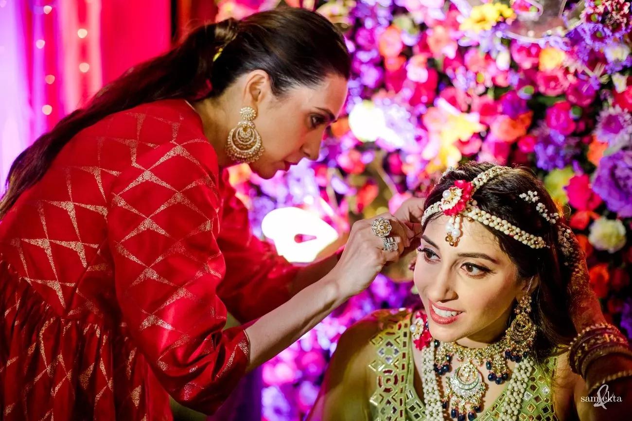 Karisma Kapoor and Anissa Malhotra