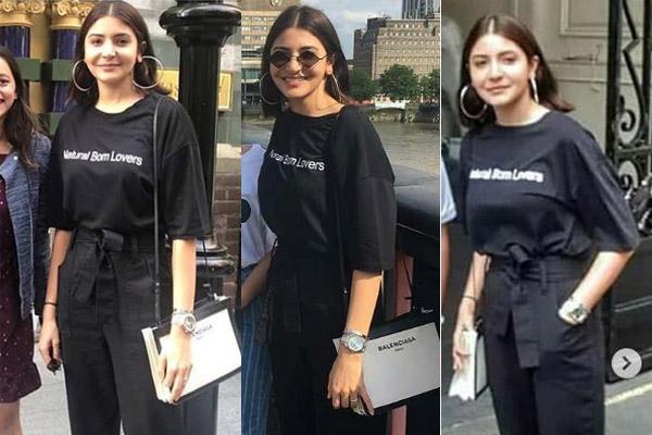 Anushka Sharma Balenciaga shoulder bag