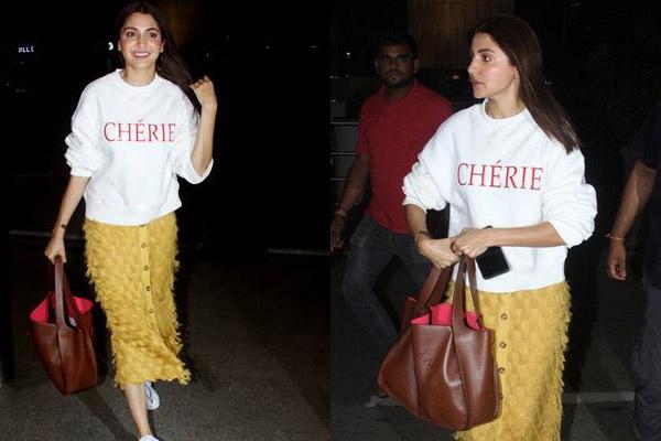 Anushka Sharma Stella Mccartney Brown Handbag