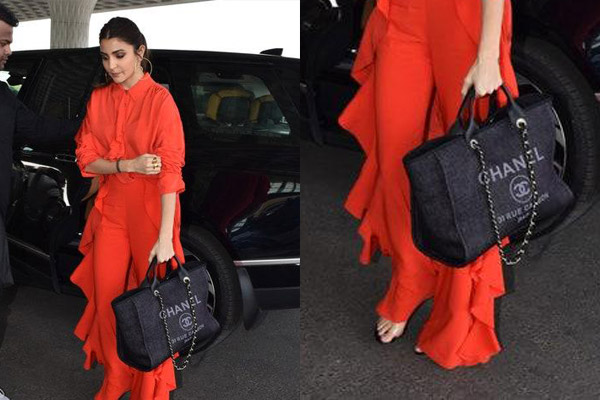 Chanel Deauville shopping bag in Anushka Sharma canvas