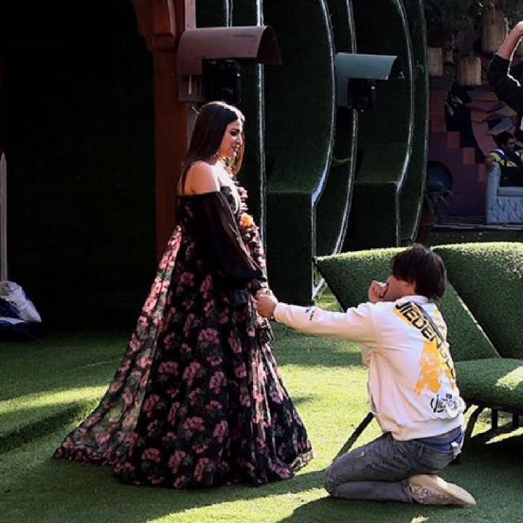 Asim and Himanshi official proposal
