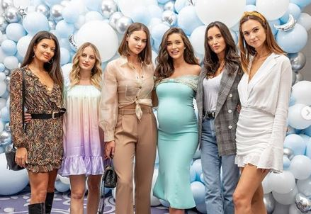 celebrity maternity photo shoot