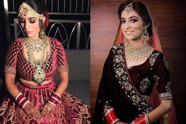 Velvet Blouse on real brides