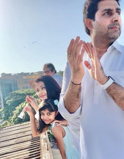 Aishwarya Rai Bachchan on Janta Curfew