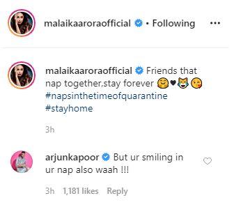 Arjun trolls Malaika