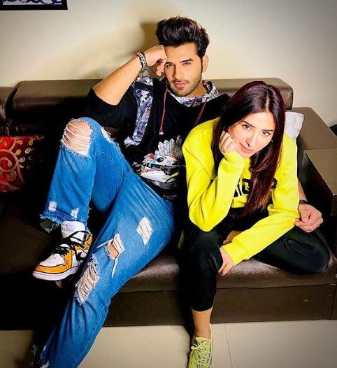 Paras Chhabra and Mahira Sharma