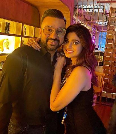 Shamita Shetty with Raj Kundra