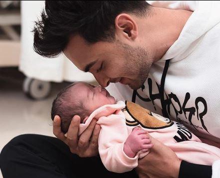 Aayush Sharma and daughter Ayat