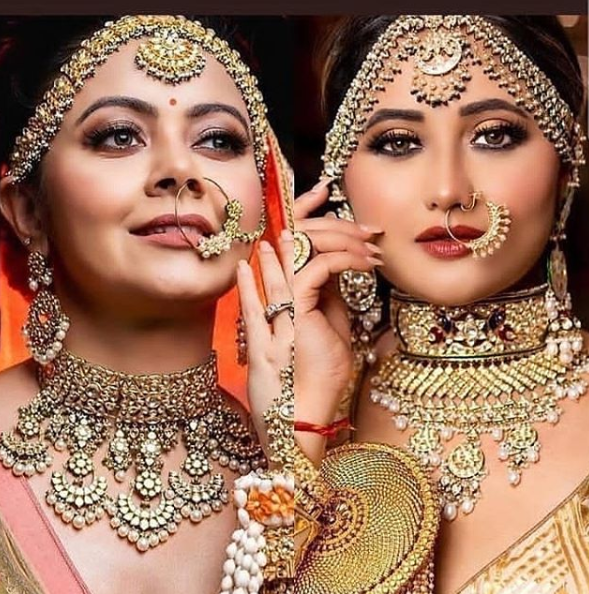 Rashmi and Devoleena