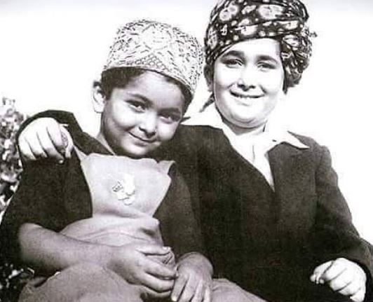 Rishi Kapoor and Randhir Kapoor