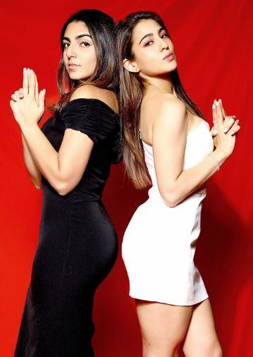Sara Ali Khan with friend