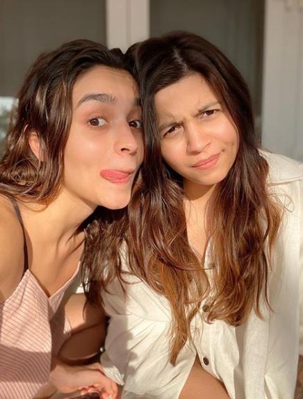 Alia Bhatt and Shaheen Bhatt