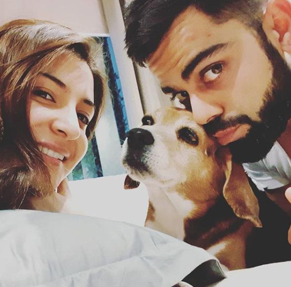 Anushka Sharma and Bruno