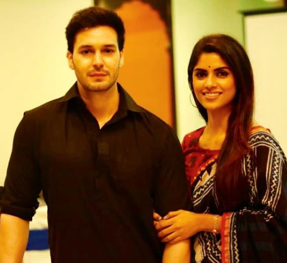 Sayantani Ghosh and Anugrah Tiwari