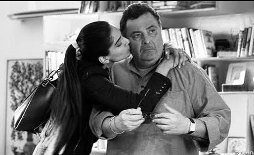 Rishi Kapoor and Sonam Kapoor