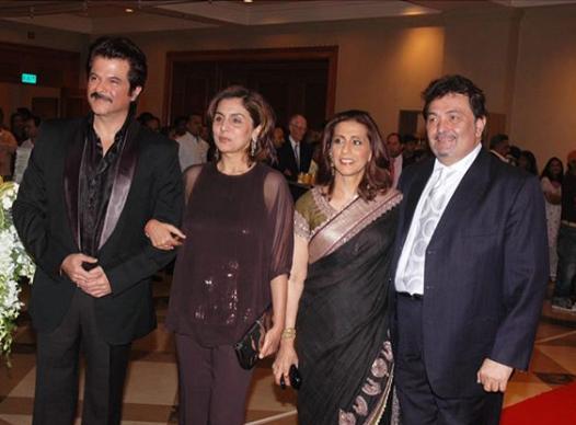 Anil Kapoor and Rishi Kapoor