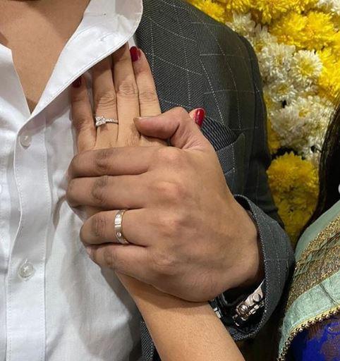 Nikhil Siddharth Engagement