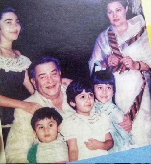 Karisma Kapoor Family Childhood