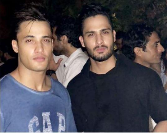 Asim Riaz with Umar Riaz