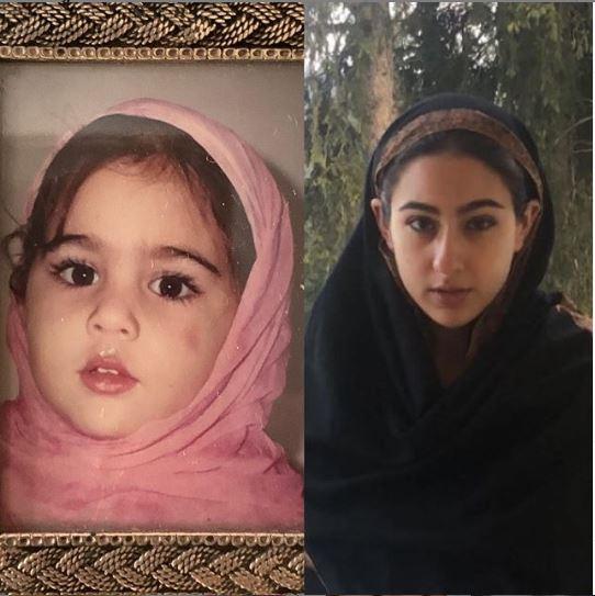 Sara Ali Khan Hijab