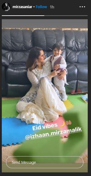 Sania Mirza Eid