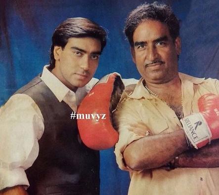 Ajay Devgn and Veeru Devgan
