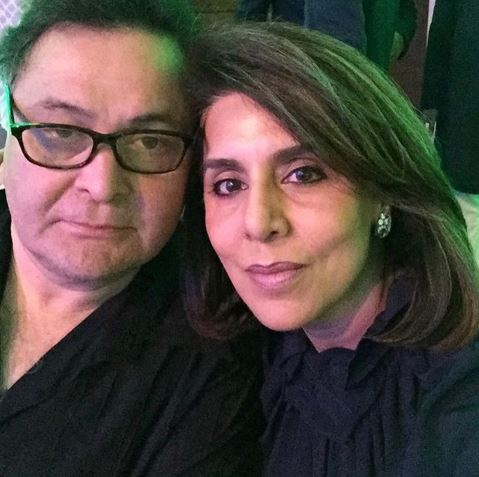 Rishi Kapoor Neetu Kapoor