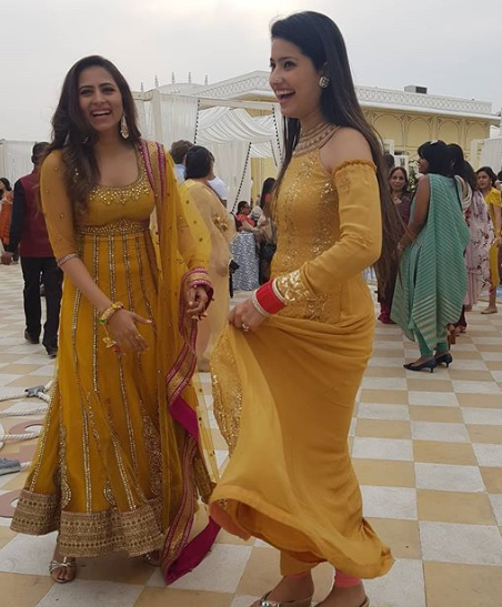 Sargun Mehta and Charu Mehta