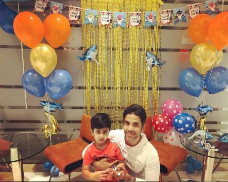Tusshar Kapoor and Son