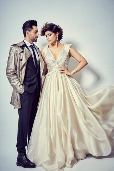 Ayushmann Khurrana and Tahira Kahsyap