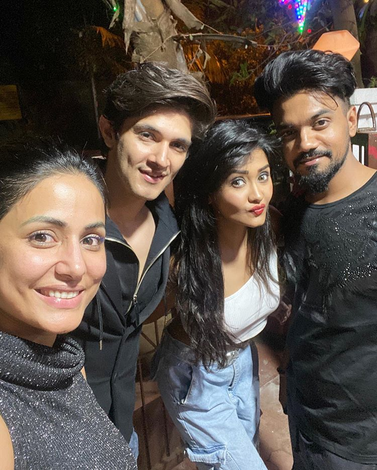 Hina Khan, Rohan Mehra and Kanchi Singh
