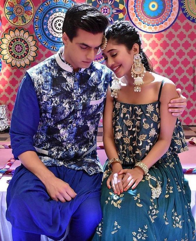 Shivangi Joshi and Moshsin Khan