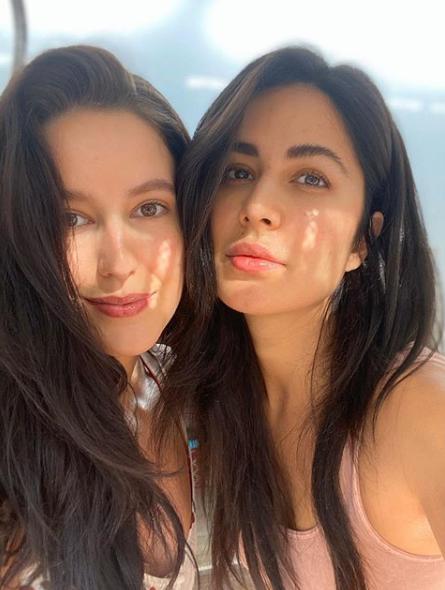 Katrina Kaif and Isabelle Kaif