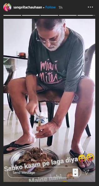 Manish Raisinghan father