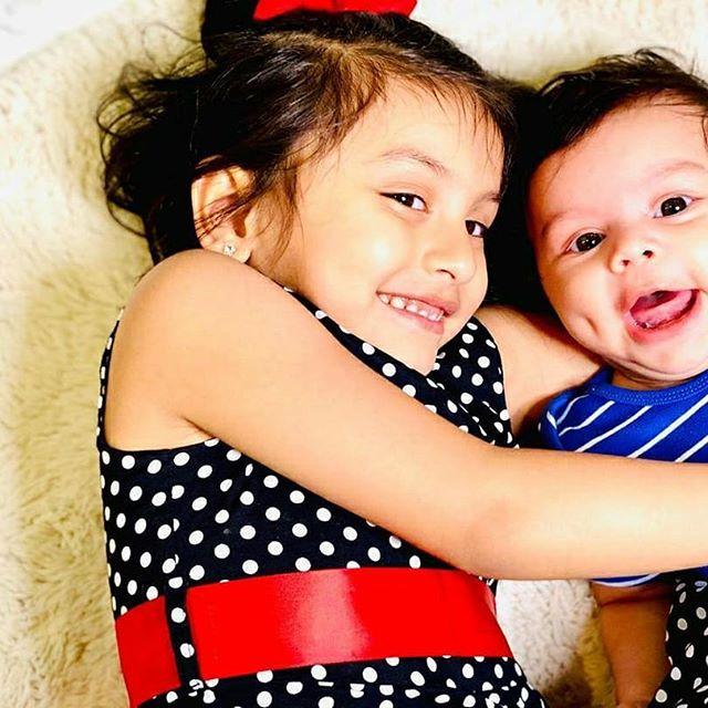 Reanna Roy and Aryaan Roy