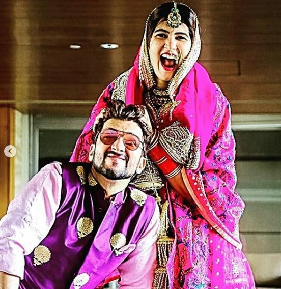 Manish Raisinghan and Sangeita Chauhan
