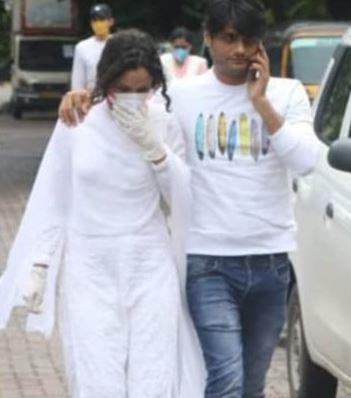 Ankita Sushant Funeral