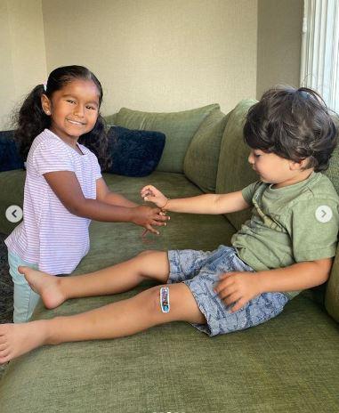 Sunny Leone Kids Raksha Bandhan