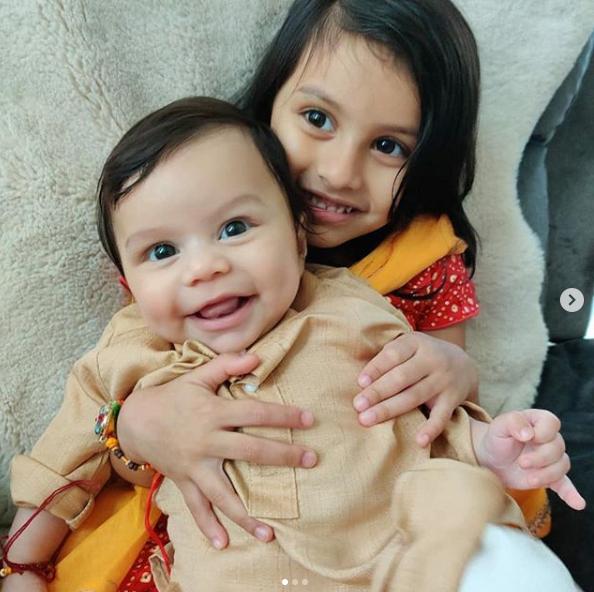 Aryaan Roy and Reanna Roy