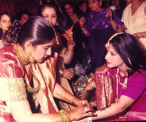 Sanjay Kapoor Wife with sister
