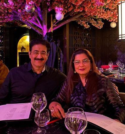 Mohit Marwah Parents