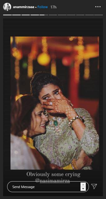 Anam Mirza Wedding