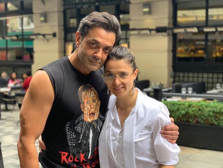Bobby Deol and Tania Deol
