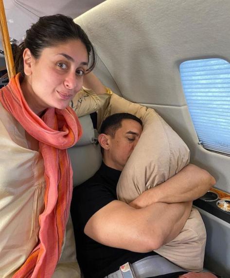 Kareena Kapoor Khan and Aamir Khan