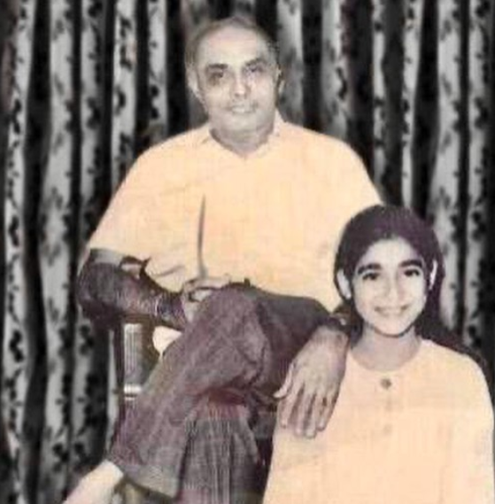 Tina Ambani's father