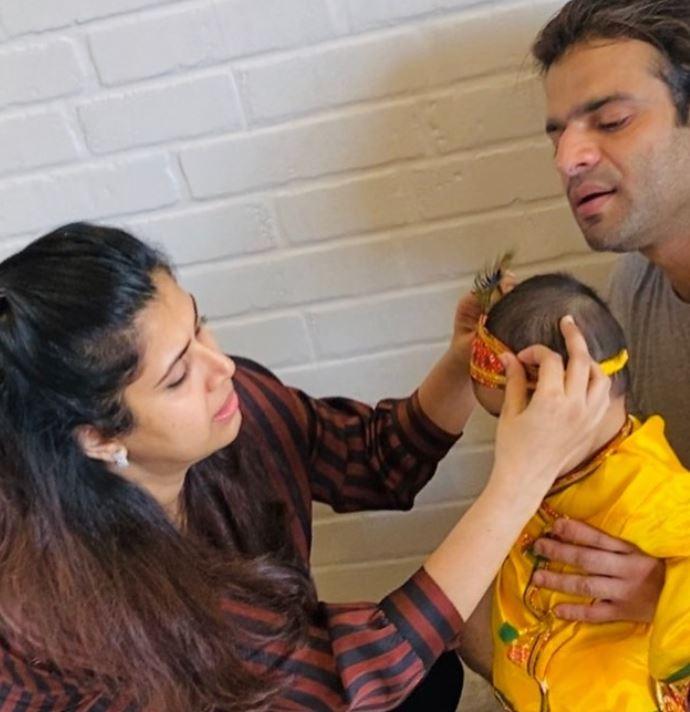 Karan Patel, Ankita Bhargava and Mehr Patel