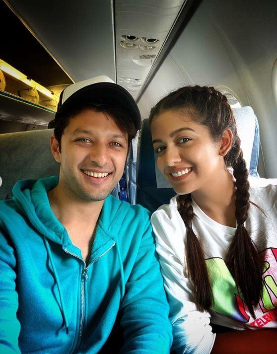 Vatsal Sheth And Ishita Dutta