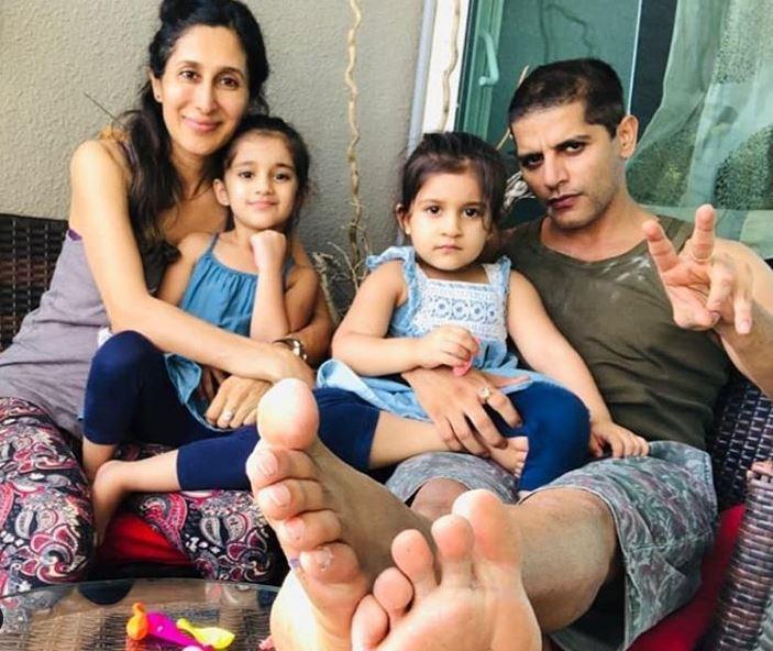 Karanvir Bohra, Teejay Sidhu, Bella and Vienna