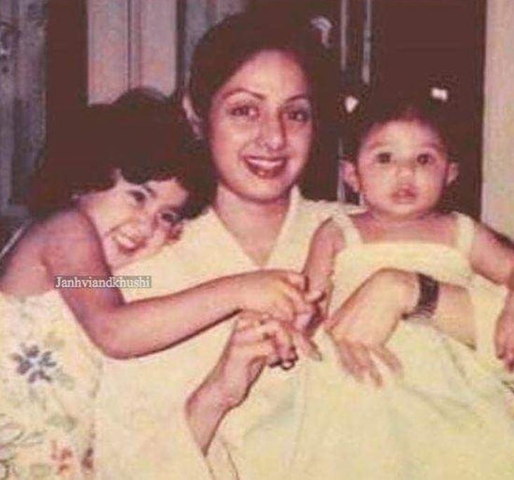 Sridevi Kapoor, Janhvi Kapoor and Khushi Kapoor